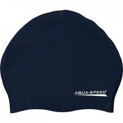 Czepek silikonowy AQUA-SPEED SMART granatowy (navy)