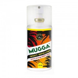 MUGGA Spray 50% DEET preparat od kleszczy i komarów
