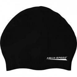 Czepek silikonowy AQUA-SPEED SMART czarny