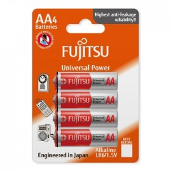 4x Bateria FUJITSU Universal Power LR03 AAA blister