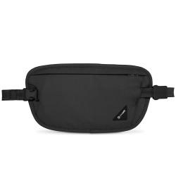 Pacsafe Coversafe X100 czarny portfel antykradzieżowy