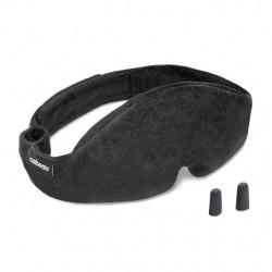 Zestaw podróżny: opaska na oczy + zatyczki do uszu CABEAU