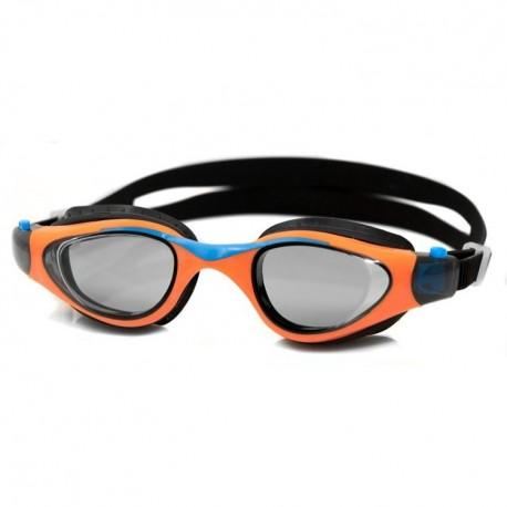 Dziecięce okulary pływackie AQUASPEED MAORI pomarańczowe