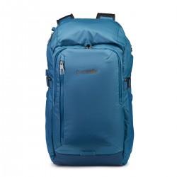 Pacsafe VentureSafe X30 niebieski plecak turystyczny antykradzieżowy