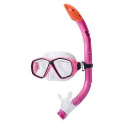 Zestaw dziecięcy do nurkowania ALLRIGHT Temisto różowy