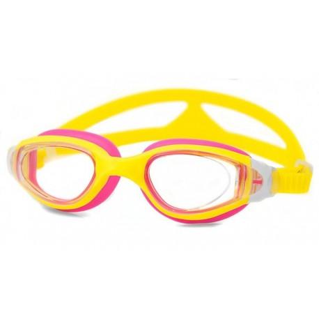 Dziecięce okulary pływackie AQUA-SPEED CETO żółte