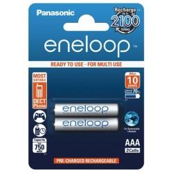 2x Akumulatorki Panasonic ENELOOP R03/AAA 750 mAh