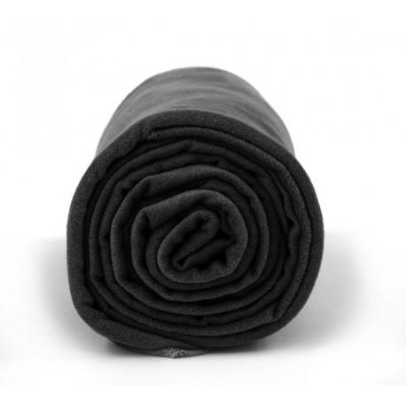 Ręcznik szybkoschnący Polygiene Dr.BACTY r. L czarny