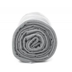 Ręcznik szybkoschnący Polygiene Dr.BACTY r. XL szary