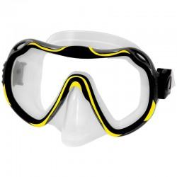 Maska do nurkowania AQUA-SPEED JAVA żółta