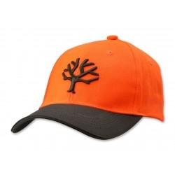 Czapka baseballowa z daszkiem BOKER PLUS pomarańczowa
