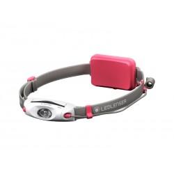 Latarka czołowa dla biegaczy LEDLENSER NEO4 pink