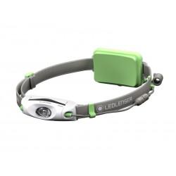 Latarka czołowa dla biegaczy LEDLENSER NEO6R green