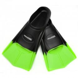Płetwy treningowe na basen AQUA-SPEED czarno-zielone