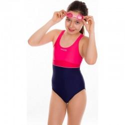 Kostium kąpielowy pływacki dziewczęcy EMILY różowy