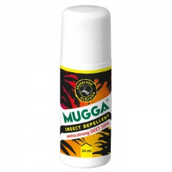 MUGGA Roll-On 50% DEET preparat od kleszczy i komarów