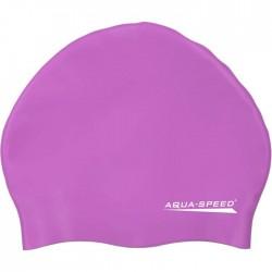 Czepek silikonowy AQUA-SPEED SMART fioletowy